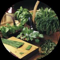 Box Je cuisine avec des herbes